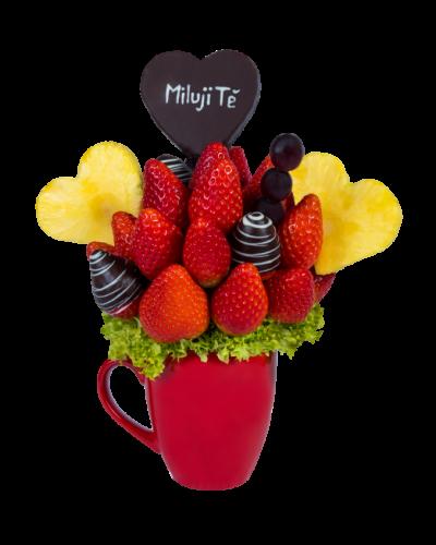 Ovocná kytice Frutiko - Miluji Tě