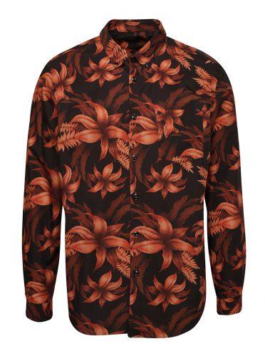 Měděná květovaná košile