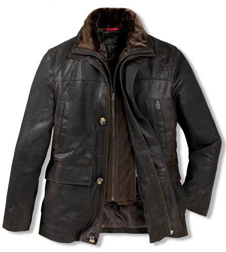 Kvalitní kožená bunda