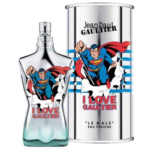 Jean Paul Gaultier Le Male Eau Fraîche Superman